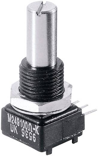 Precíziós forgó potméter, mono 1 W 500 Ω Vishay 249