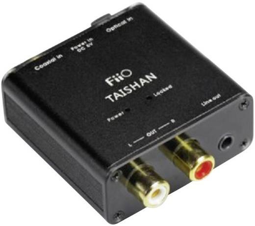 D/A konverter, digitális analóg átalakító 1koax, vagy Toslink bemenet - 2RCA, 3.5mm-es jack kimenet FiiO D03K