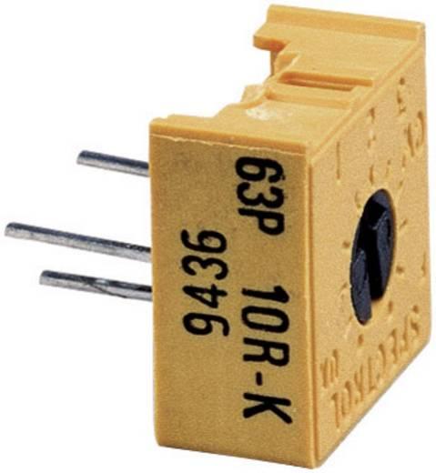 Precíziós trimmer potméter, lineáris, 0,5 W 25 kΩ 270° 300° Vishay 63 P 25K