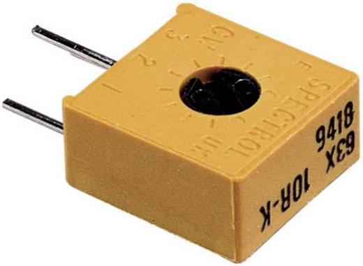 Precíziós trimmer potméter, lineáris, 0,5 W 100 Ω 270° 300° Vishay 63 X 100R