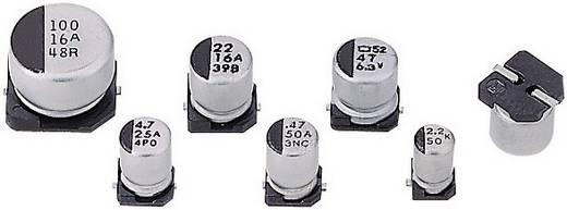 SMD elektrolit kondenzátor 100 µF 16 V/DC 20 % Ø 8 x 6 mm