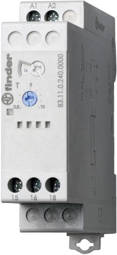 Ipari időrelé, 83.11.0.240.0000 Finder 24 - 240 V DC/AC 1 váltó 16 A 400 V/AC