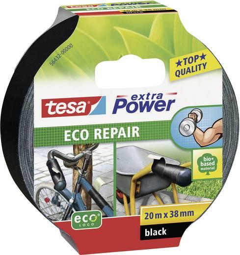 Rögzítő és javító szalag 20 m x 38 mm, fekete, TESA extra Power ECO REPAIR 56432