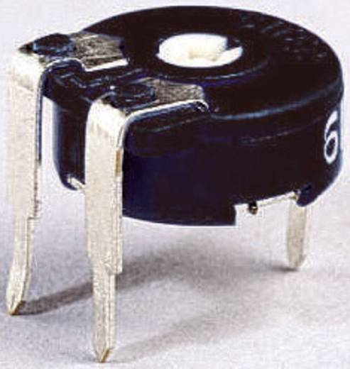 Miniatűr lineáris trimmer potméter, fekvő kivitelű, felső állítással 0.15 W 10 kΩ 220 ° 240 ° Piher PT 10 LV 10K