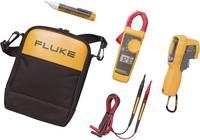 Fluke műszerkészlet, Fluke 323 lakatfogó, Fluke 1AC II fázisceruza, Fluke 62 MAX infrahőmérő 4296076 Fluke