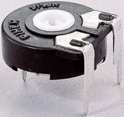 Trimmer potméter, lineáris, fekvő, 0,25 W 500 Ω 250° 270° Piher PT 15 LV 500R