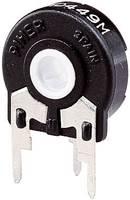 Trimmer potméter 0,25 W 500 kΩ 270° Piher PT 15 500R Piher