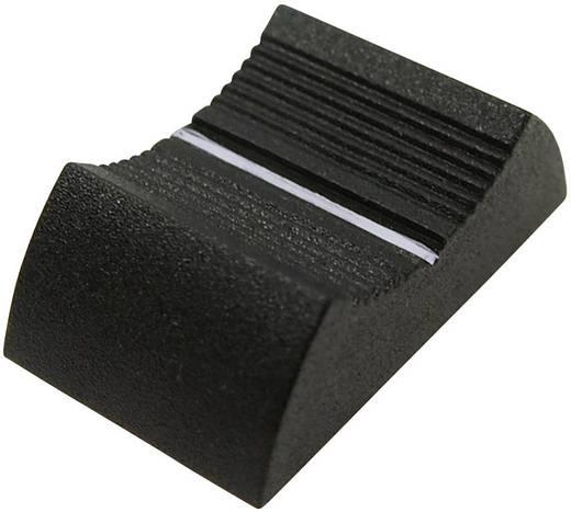Tolópotméter gomb 6-8 mm, fekete, Cliff CS9 CP3335