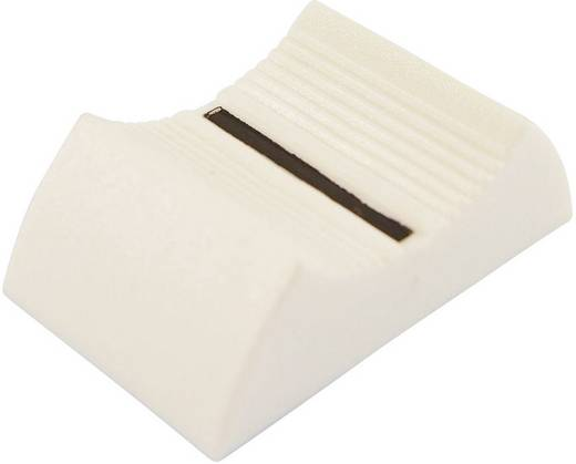 Tolópotméter gomb 4 mm, fehér, Cliff CS9 CP3335