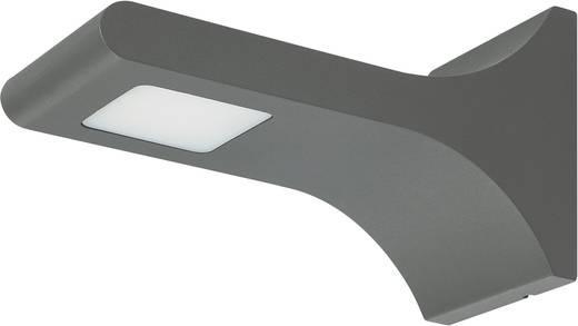 LED-es Kültéri falilámpa antracit színben 3,6W melegfehér fényű 13901