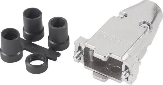 D-SUB doboz pólusszám: 25 fém 180 ° Ezüst TE Connectivity 5748676-3 1 db