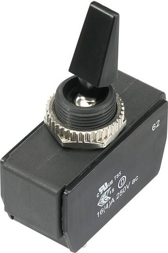 Karos billenőkapcsoló 16(4) A, 250 V/AC, 2 x be/ki, SCI R13-477A3-01-HR