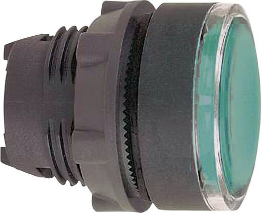 Lapos nyomógomb, zöld, Schneider Electric Harmony ZB5AA38