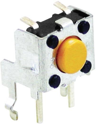 Rövid nyomógomb, oldalról nyomható, 24 V/DC 50 mA, Omron B3F3152