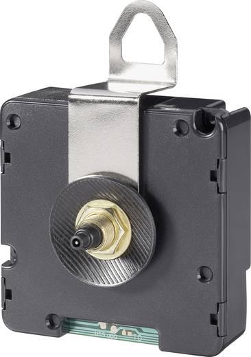 Rádiójel vezérelt óramű, óraszerkezet, 17 mm tengely hossz, fém fali felfogatással