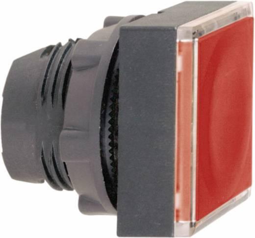 Világítós nyomókapcsoló, lapos, piros, Schneider Electric Harmony ZB5CW343