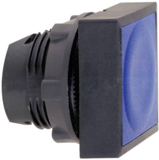 Világítós nyomókapcsoló, lapos, kék, Schneider Electric Harmony ZB5CW363