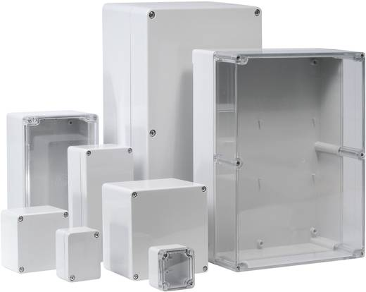 ABS univerzális műszerház 122 x 120 x 55 mm, világosszürke (RAL 7035), Bernstein AG CT-662