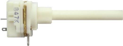 Kapcsolós potméter, lin. 6 mm-es tengely, 220 kΩ 0,2 W ± 20 % 0,4-1,2 Ncm 10 A, Weltron WP20KCIL-08-50F1-220K-20%-LIN
