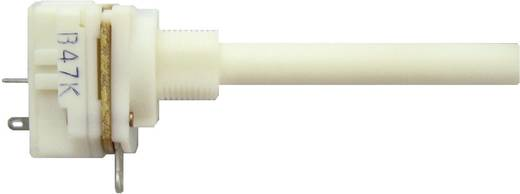 Lineáris kapcsolós potenciométer, 6 mm, 1 MΩ 0,2 W ± 20 % 0,4-1,2 Ncm 10 A, Weltron WP20KCIL-08-50F1-1M-20%-LIN