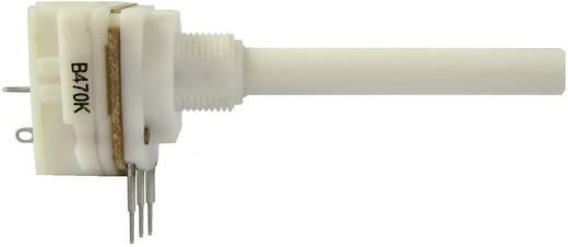 Lineáris kapcsolós potenciométer, 6 mm, 10 kΩ 0,2 W ± 20 % 1,5-2,8 Ncm 10 A, Weltron WCIP20KCILS-08-50F1-10K-20%-LIN