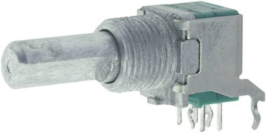 Forgó potméter, lin. sztereo 50 kΩ 0,05 W ± 20 %, ALPS RK09L1220 50KBX2CC 402153