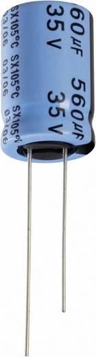 Elektrolit kondenzátor radiális kivezetéssel 2 mm 33 µF 10 V/DC 20 % (Ø x Ma) 5 mm x 11 mm Yageo SX010M0033B2F-0511 1 db