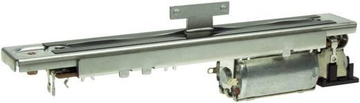Motorhajtású síkpályás szabályzó potenciométer, nyákos, 5 kΩ 60 mm-es úthossz, ALPS RSA60N11M9 5KB