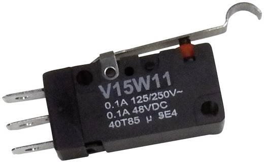 Mikrokapcsoló 1 pólusú váltó, 250 V/AC, IP67, Honeywell V15W11-WZ200A04-W3