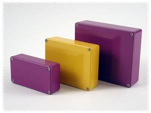 Hammond Electronics alumínium dobozok IP54 1590 sorozat 1590BYL alumínium (H x Sz x Ma) 111.5 x 59.5 x 31 mm, sárga Hammond Electronics