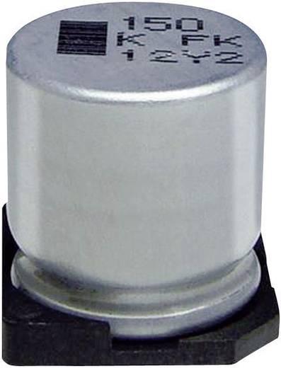 Elektrolit kondenzátor SMD 1500 µF 35 V 20 % (Ø x Ma) 16 mm x 16.5 mm Panasonic EEVFK1V152M 1 db