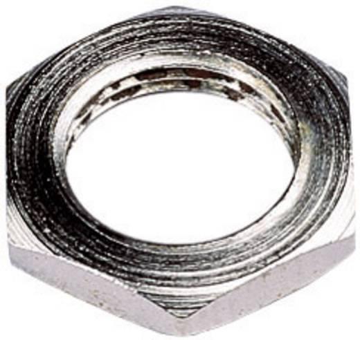 Forgó potméter rögzítő anya M10x0,75, Piher
