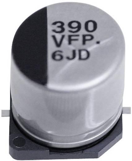Elektrolit kondenzátor SMD 100 µF 6.3 V 20 % (Ø x H) 5 mm x 5.8 mm Panasonic EEEFPJ101UAR 1 db