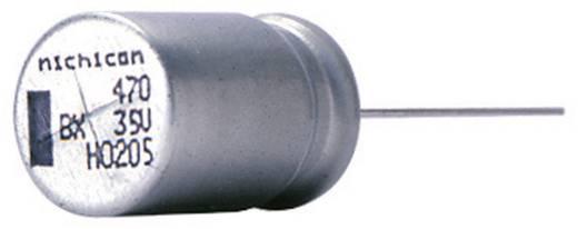 Elektrolit kondenzátor, radiális, álló, 5 mm 220 µF 35 V 20 % (Ø x H) 12,5 x 25 mm Nichicon UBX1V221MHL