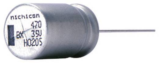Elektrolit kondenzátor, radiális, álló, 7,5 mm 470 µF 35 V 20 % (Ø x H) 16 x 31,5 mm Nichicon UBX1V471MHL