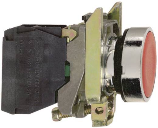 Lapos nyomógomb, fekete, Schneider Electric Harmony XB4BA21