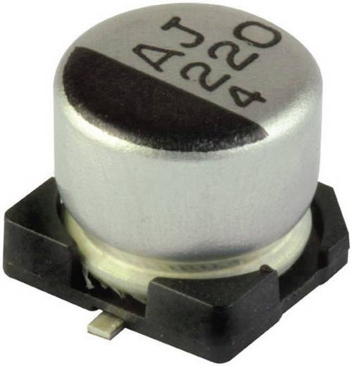 SMD elektrolit kondenzátor, 105°C 100µF 16V 6,3X5,4 G