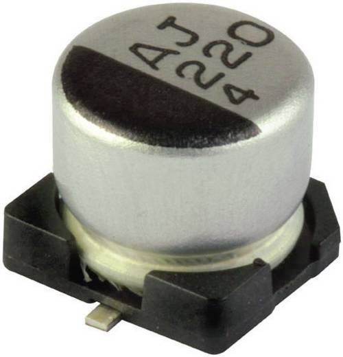 SMD elektrolit kondenzátor, 105°C 100µF 6,3V 6,3X5,4 G
