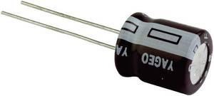 Elektrolit kondenzátor, radiális, álló, 105°C RM 1,5 mm 0,1 µF 50 V 20 % Ø 4 x 5 mm Yageo S5050M0R10B1F-0405 Yageo