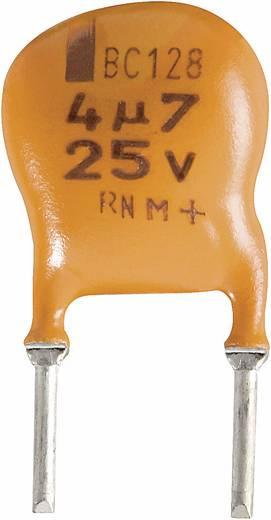 Elektrolit kondenzátor, radiális, álló, 5 mm 22 µF 10 V/DC 20 % (Ø x Ma) 10 x 7 mm Vishay 2222 128 34229