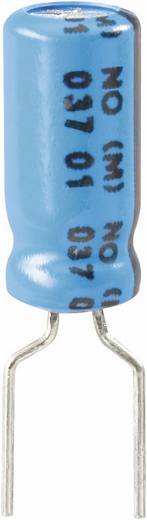 Elektrolit kondenzátor, álló elkó, 85° 100µ 25V