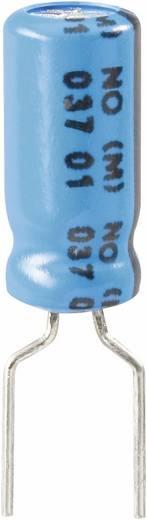 Elektrolit kondenzátor, radiális, álló, 85° RM 5 mm 1 µF 63 V 20 % Ø 5 x 11 mm Vishay 2222 037 38108