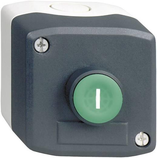 Nyomógomb házban, zöld, Schneider Electric Harmony XALD102