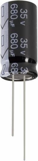 Elektrolit kondenzátor, radiális, álló, ULTRA LOW, ESR 2200 µF 16 V