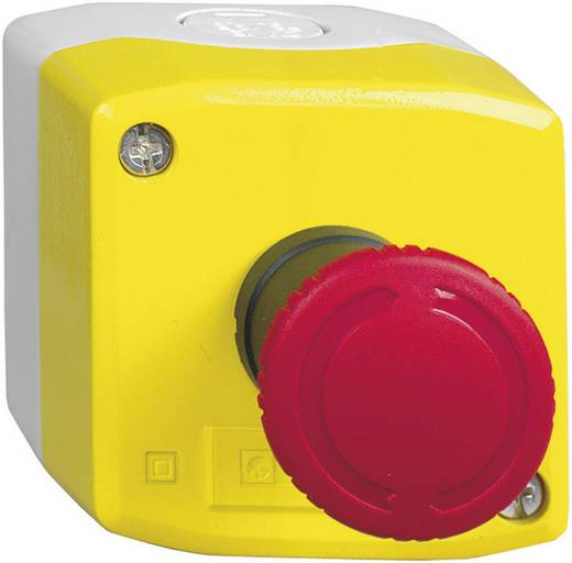 Vészkikapcsoló gomb házban, piros, Schneider Electric Harmony XALK178E