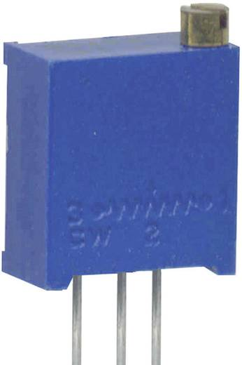 Álló trimmer potméter, felül állítható, 200 kΩ 0,5 W ± 10 % 3296W, Weltron WEL3296-W-204-LF