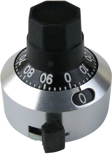 Számláló forgatógomb 10 fordulatig, Ø 6,35 mm tengelyhez, Bourns H-22-6A