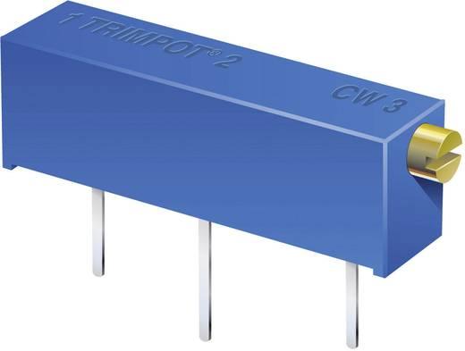 Trimmer potméter, fekvő, oldalt állítható, 10 kΩ 0,75 W ± 10 % THT 3006P, Bourns 3006P-1-103LF