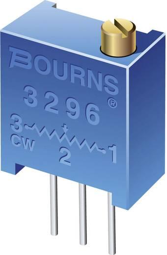 Álló trimmer potméter, felül állítható, 500 kΩ 0,5 W ± 10 % THT 3296, Bourns 3296W-1-504LF