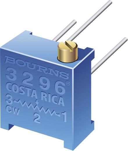 Trimmer potméter, fekvő, oldalt állítható, 200 kΩ 0,5 W ± 10 % THT 3296, Bourns 3296P-1-204LF